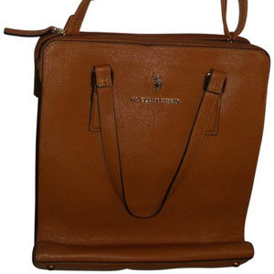 Vegan elongated tote crossbody by US Polo Assn bag